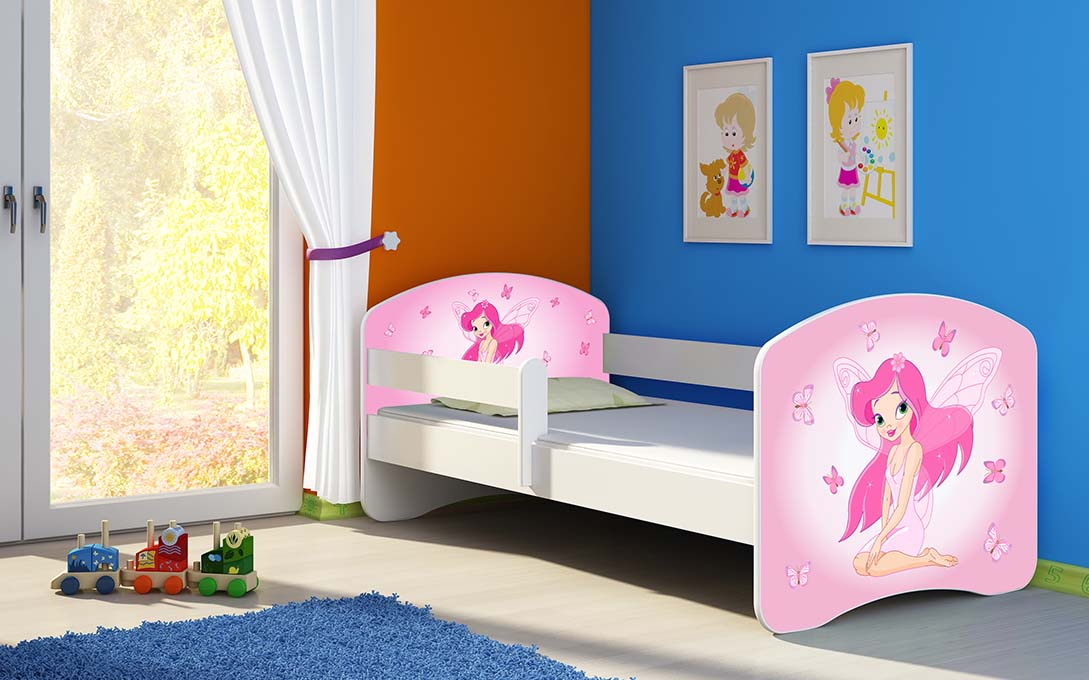 lit enfant b b 140x70 160x80 matelas livraison gratuite blanc ebay. Black Bedroom Furniture Sets. Home Design Ideas